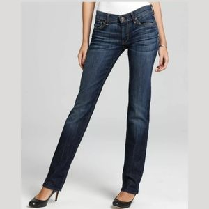 7 for all Mankind edie straight leg Jean's